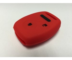 Red With Black Lettering 2 Button Fob Cover