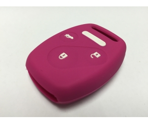 Pink 3 Button Fob Cover
