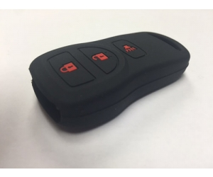 Black 3 Button Key Fob Cover