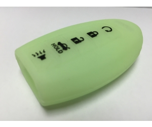 Glow in the Dark 5 Button Intelligent Key Fob Cover