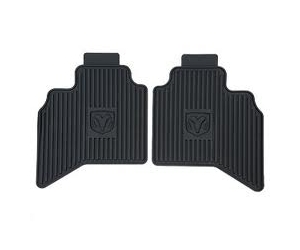 Rear Slush Style Floor Mats