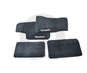 SRT-8 Logo Carpet Floor Mats