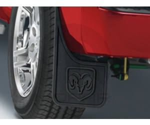 Front Heavy Duty Rubber Splash Guards