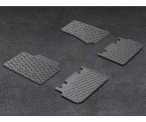 First and Second Row Slush Floor Mats