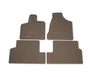 First and Second Row Slush Style Floor Mats