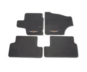 First and Second Row Carpet Floor Mats