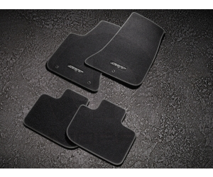 SRT Logo Carpet Floor Mats
