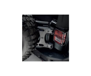 Oversized Spare Tire Carrier Tailgate Reinforcement