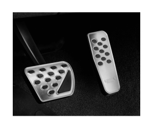 Stainless Steel Pedal Covers