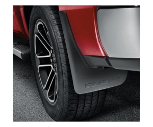 Front and Rear Deluxe Molded Splash Guards