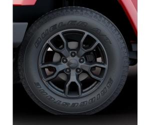 18 Inch Jet Black Wheel