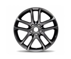 Jet Black Semi Gloss 20 Inch Wheel