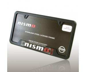 Black Nismo License Plate Frame