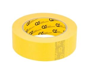 Q1 - 1-1/2 inch (36mm X 55m) Yellow Masking Tape