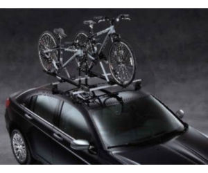 Upright Bed Mounted Bike Carrier