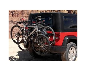 Spare Tire Bicycle Carrier