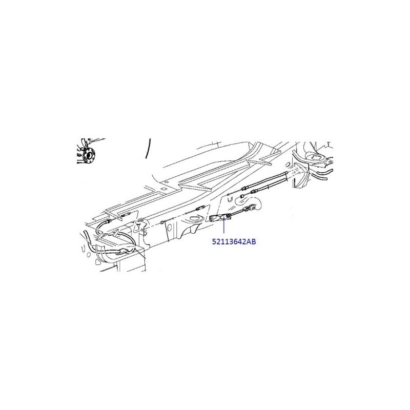 52113642AB   Dodge Ram    1500    Parking Brake Cable Tensioner