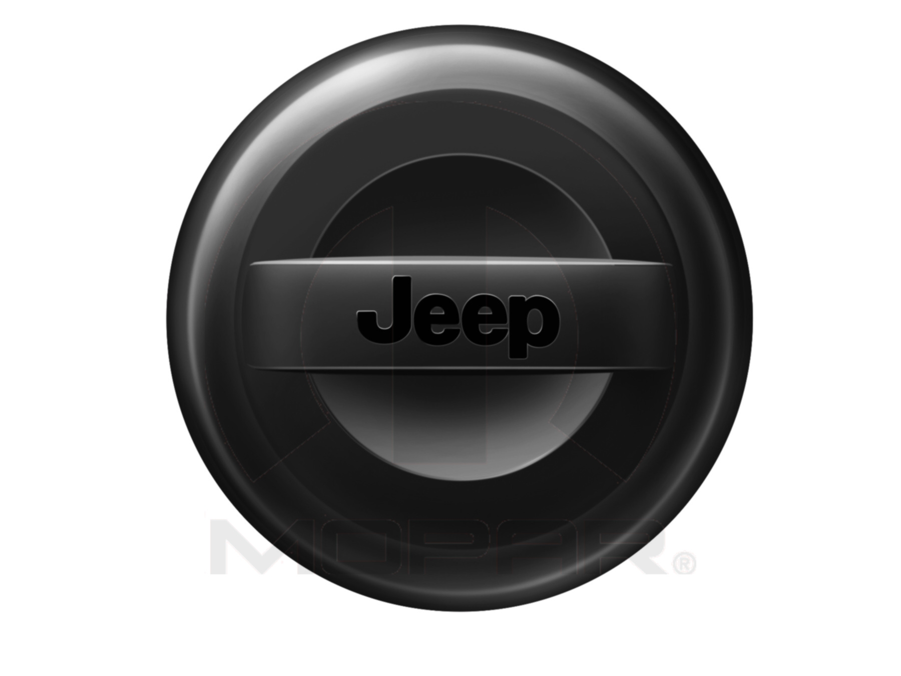 82214306 2007 2018 Jeep Wrangler Molded Spare Tire Cover