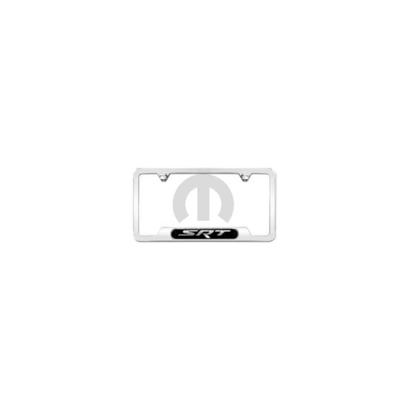 82214920 | 2011-2018 Jeep Grand Cherokee Polished SRT Logo License ...