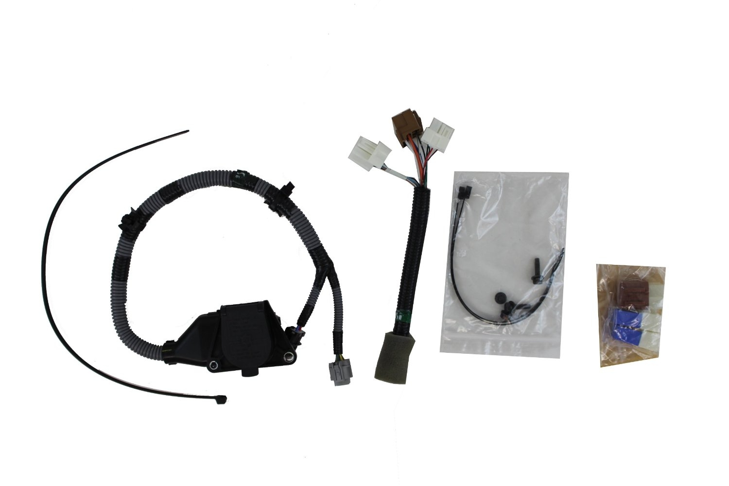 Wiring Harness Kit For Towing 2017 Nissan Frontier 54 999t8 Br020a Br020 2005 7 Way Round Trailer Tow At Highcare